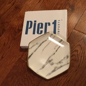 Pier1 Imports Marble Ring Dish